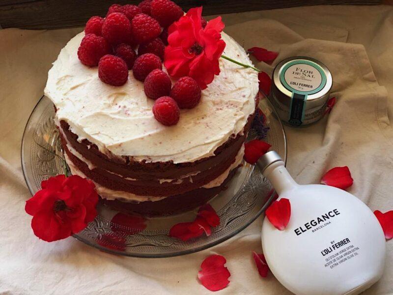 Red Velvet con Aceite de oliva virgen extra y Flor de Sal