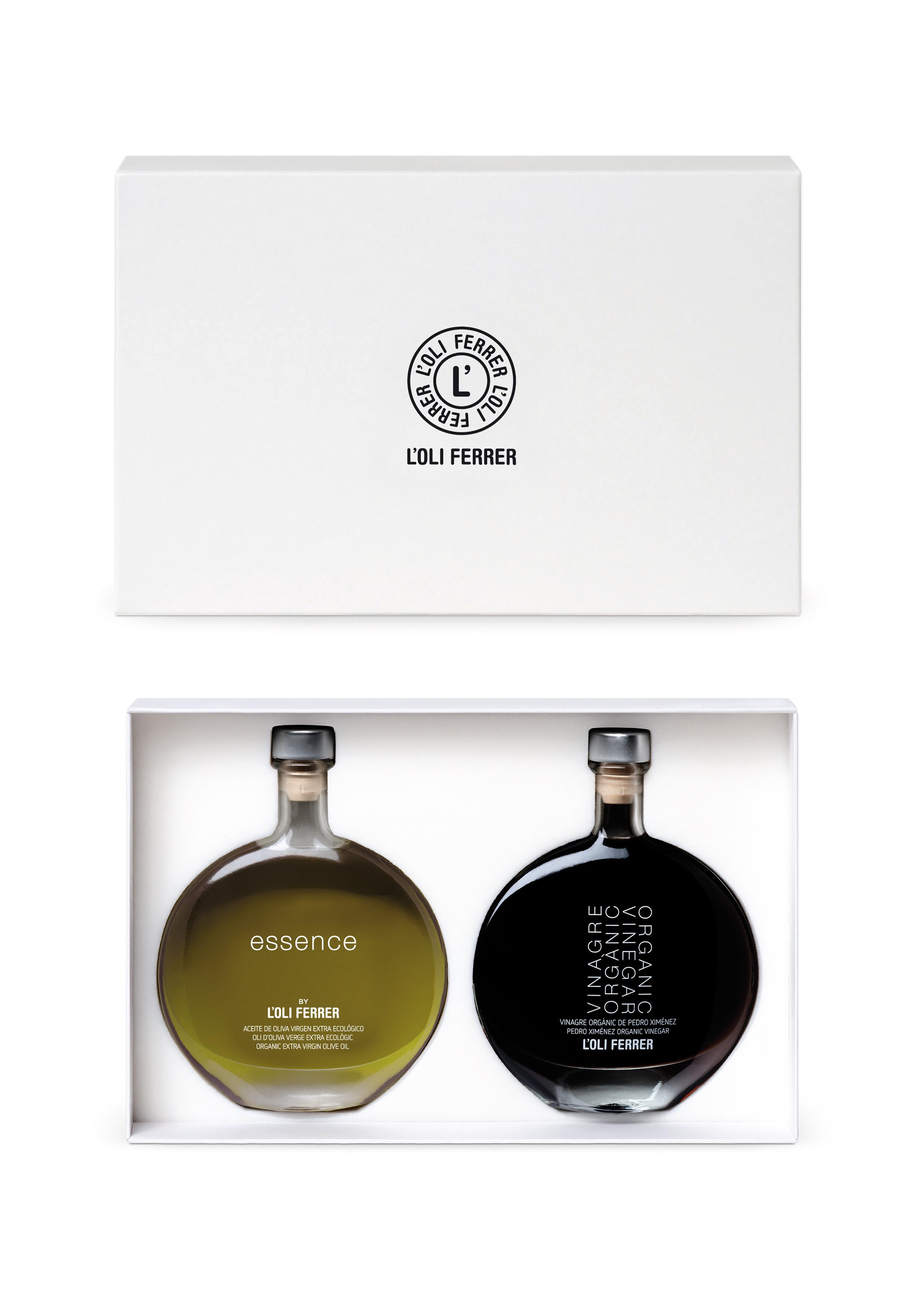 e1c313d1448 Pack Regalo Gourmet Aceite ESSENCE + Vinagre