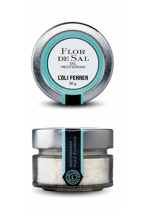 flor de sal del mediterraneo
